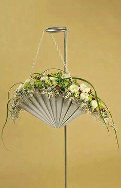 flower fan purse