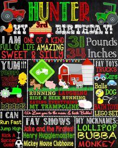 Old Macdonald farm birthday party decorations custom, old mcdonald birthday…