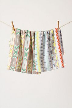 Such a fan of these lovely dishtowels!    Geo Jacquard Dishtowel Set #anthropologie