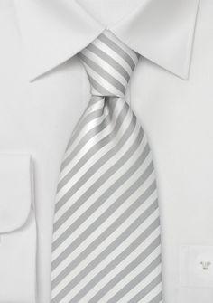 Formal Kids Ties Elegant White/Silver Boy's Necktie - ties shop - Ties for Kids Grey Tuxedo, Tuxedo For Men, Grey Tie, White Silk, Grey And White, Gray, Groomsmen Accessories, Formal Tie, Kids Ties