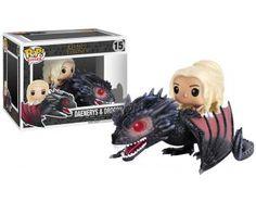 Daenerys Targaryen & Drogon Vinyl Figure 15 - Funko Pop! van Game Of Thrones