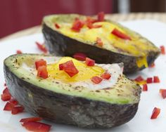 Avocado Eggs on the Grill