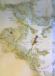 Early mapping of Boston
