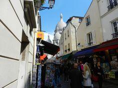 Montmartre é um charme a parte! <3 Paris