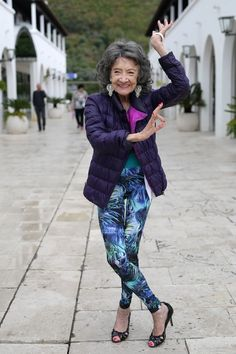 97-year-old Yoga Master Tao Porchon-Lynch | ADVANCED STYLE | Bloglovin'
