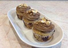 Mogyorókrémes mini muffinok (gluténmentesen is) Minion, Muffin, Cheesecake, Paleo, Diet, Breakfast, Food, Morning Coffee, Cheesecakes