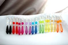 Rainbows and clouds  by Helen Watson on Etsy
