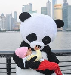 Panda mascot costume is one of the most popular costume among buyers. Panda is a cute and honest animal which is also national treasure of China, it only exist in China.