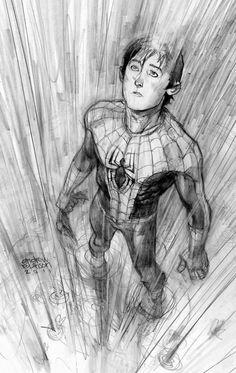 spiderman feelin the rain by Andrew-Robinson.deviantart.com on @deviantART