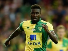 Alex Tettey of Norwich City in action during the pre season friendly match between Norwich City and West Ham United at Carrow Road on July 28, 2015