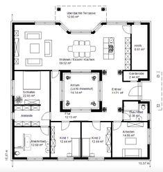 Castle House Plans, Best House Plans, Small House Plans, Courtyard House Plans, Facade House, House Layout Plans, House Layouts, Cottage Floor Plans, House Floor Plans