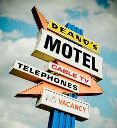 Deano's Motel photo by Marc Shur