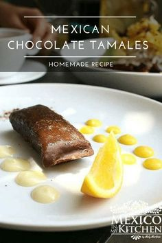 Chocolate Tamales are sweet and delicious and a favorite treat treasured in Mexico. These will be your new favorite tamale.  I can guarantee you that the hardest part of this recipe is waiting for them to be cooked. Authentic Mexican Desserts, Real Mexican Food, Mexican Dessert Recipes, Breakfast Recipes, Sweet Tamales, Tamale Recipe, How To Make Chocolate, Kitchen Recipes, Street Food
