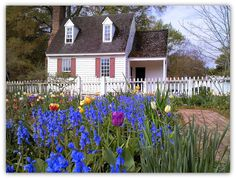 Williamsburg, Virginia.  What a fun vacation we had there.  I want to go again.