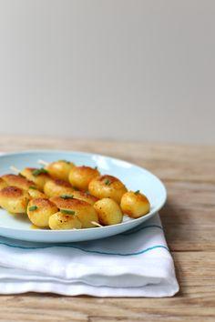 BBQ: gekruide aardappelspiesjes