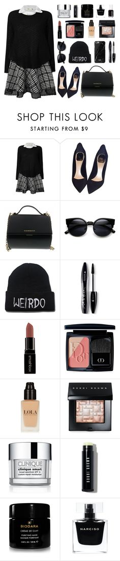 """""""vòng xoay"""" by bestraan ❤ liked on Polyvore featuring Christian Dior, Givenchy, Lancôme, Smashbox, Bobbi Brown Cosmetics, Clinique, Narciso Rodriguez, Essie, women's clothing and women"""