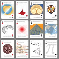 Part of our deck of code cards, each with a different Wolfram Language tweetable program