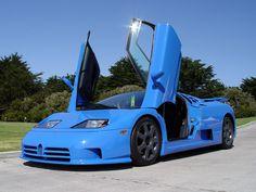 The bugatti eb110 is a sports car manufactured by bugatti automobili
