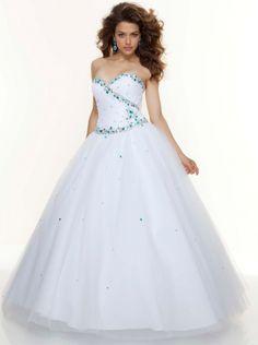 Ball Gown Organza Long Prom Dress Formal Dress/ Evening Dress Parai 93072