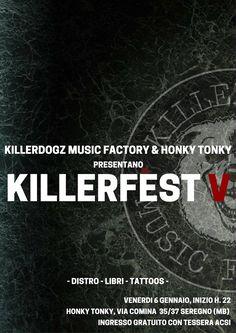 Mexican Standoff #Killerfest2017 #HonkyTonky #Seregno 6 gennaio 2017 Mexican Standoff, Honky Tonk, Musica