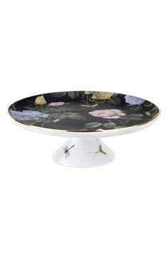 Portmeirion x Ted Baker 'Rosie Lee' Bone China Footed Cake Stand
