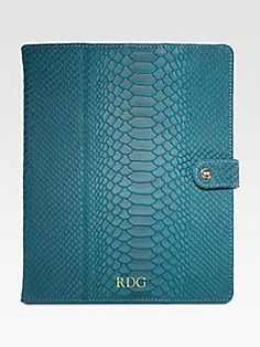 GiGi New York - Personalized Python iPad Case