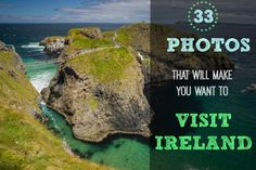 Blog Post at Divergent Travelers: Our love affair with the emerald isle, Ireland in 33 Photos That will Make You Want To Visit Ireland. #LoveIreland