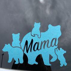 Mama Bear with cubs .SVG file for vinyl cutting Cubs Tattoo, Bear Tattoos, Arrow Tattoos, Tatoos, Ankle Tattoo Small, Ankle Tattoos, Tiny Tattoo, Small Tattoos, Pirate Ship Tattoos