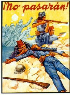 Chapter Posters of the Spanish Civil War Ww2 Propaganda Posters, Political Posters, Graffiti, Vintage Book Covers, Power To The People, Cool Posters, Vintage Posters, Retro Posters, Civilization