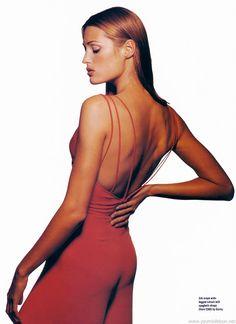 "UK Elle May 1993 ""All for One"" Model: Yasmin Le Bon"