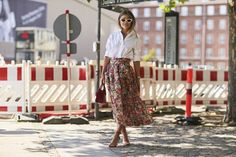 Copenhagen Fashion Week Street Style Spring 2018 Day 2