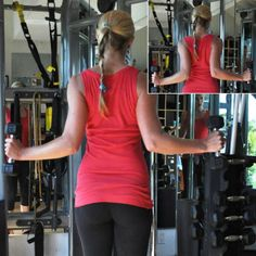 8 Exercises for Women That Aren't a Pull-Up: Lat Squeezes - 8 Upper-Body Exercises to Do Instead of Pull-Ups - Shape Magazine