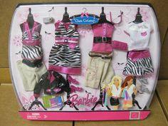 2007 Barbie Fashion Fever Fashions | eBay
