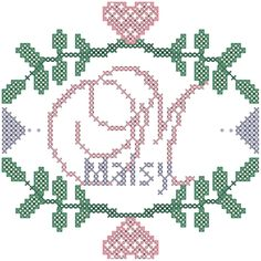 A personal favorite from my Etsy shop https://www.etsy.com/listing/198157250/modern-cross-stitch-pattern-initial-with