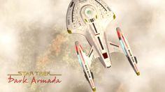 Landing of the Batavia (Nova-class) - Star Trek Dark Armada