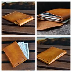 REAL LEATHER BI-FOLD MEN/'S CARD//NOTES//COINS WALLET WITH STAMP//SIM SLOT+RFID SLEV