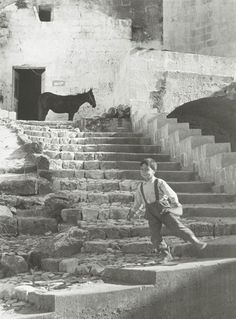 Mario Carbone - Matera, 1960 Yesterday when I was young
