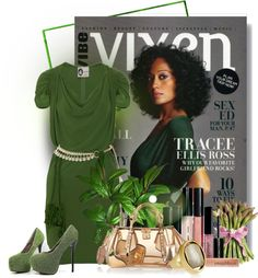 """""""Tracee Ellis Ross"""" by gaburrus ❤ liked on Polyvore"""