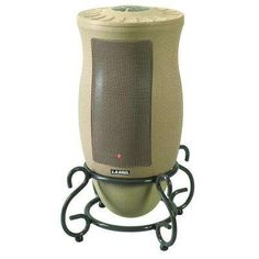 Designer Series 1500-Watt Oscillating Ceramic Electric Portable Heater with Remote Control