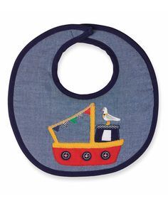 Another great find on #zulily! Tugboat Bib #zulilyfinds