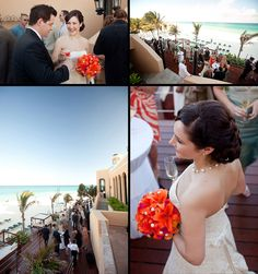 Destination wedding Mexico:    Playa del Carmen wedding