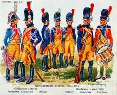 Gendarmerie d'Elite. French, First Empire.