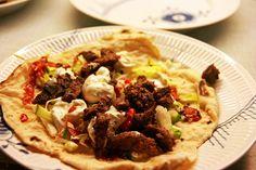 Opskrift på Shawarma   GOURMAND
