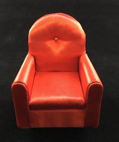 Petite-Princess-Fantasy-Furniture-by-IDEAL-Red-Guest-Chair-4409-9-150-NOS