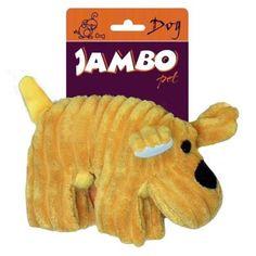 Cachorro Veludo Amarelo Jambo Pet - MeuAmigoPet.com.br #petshop #cachorro #cão #meuamigopet