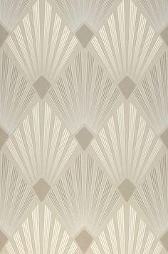 82,90€ Prix par rouleau (par m2 15,55€), Papier peint luxe, Matériel de base: Papier peint intissé, Surface: Lisse, Aspect: Mat, Design: Art Déco, Damassé moderne, Couleur de base: Gris silex, Couleur du motif: Blanc crème brillant, Blanc gris, Gris beige clair , Caractéristiques: Bonne résistance à la lumière, Difficilement inflammable, Arrachable à sec, Encollage du mur, Lessivable