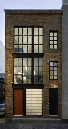 It looks like a fitting juxtaposition of contemporary and the original brickwork /