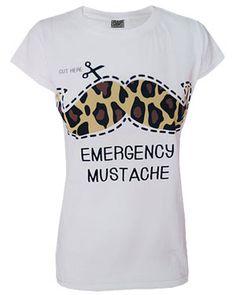 Emergency moustache...