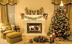 Christmas Living Rooms – Stimulating Ideas & Tips of the Year