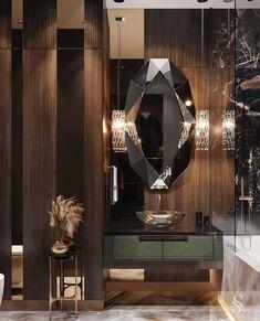 Cama Design, Wc Design, Toilet Design, House Design, Design Ideas, Bathroom Mirror Design, Bathroom Design Luxury, Bathroom Designs, Bathroom Ideas